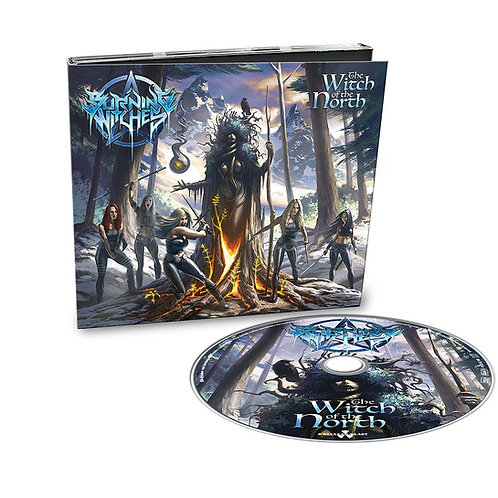 BURNING WITCHES - The Witch Of The North (CD)
