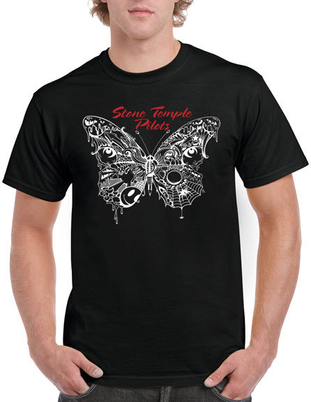 STONE TEMPLE PILOTS - WEBBED BUTTERFLY (Camiseta)