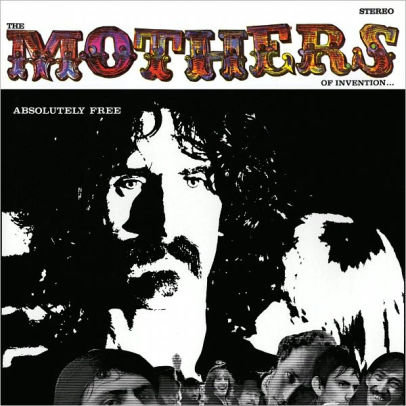 FRANK ZAPPA AND THE MOTHERS OF INVENTION - Absolutely Free (CD)