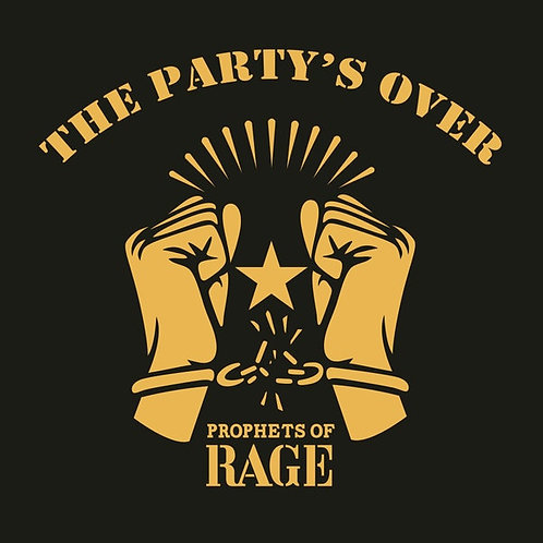 PROPHETS OF RAGE - The Partys Over - (CD)