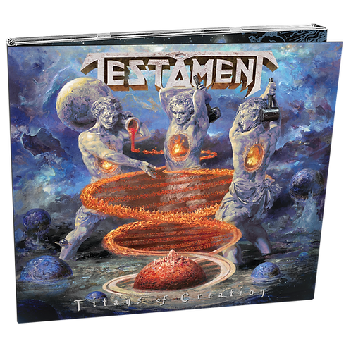 CD TESTAMENT - Titans of Creation (Digipack)