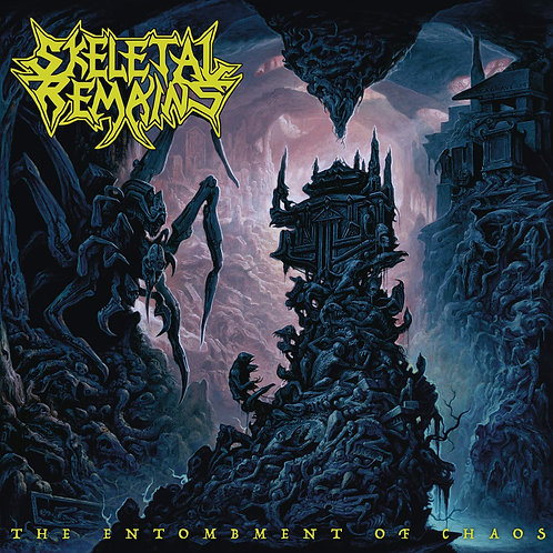 SKELETAL REMAINS - Entombment Of Chaos (CD)