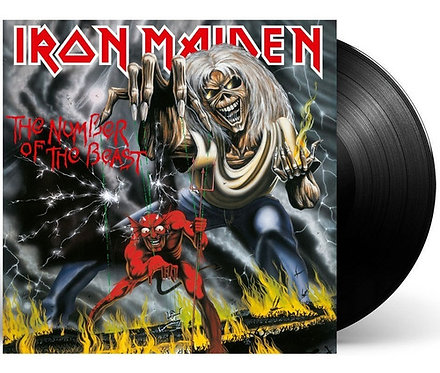 IRON MAIDEN - THE NUMBER OF THE BEAST (LP)