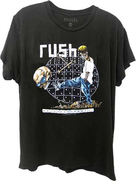 RUSH - ROLE THE BONES MENS T-SHIRT (Camiseta)