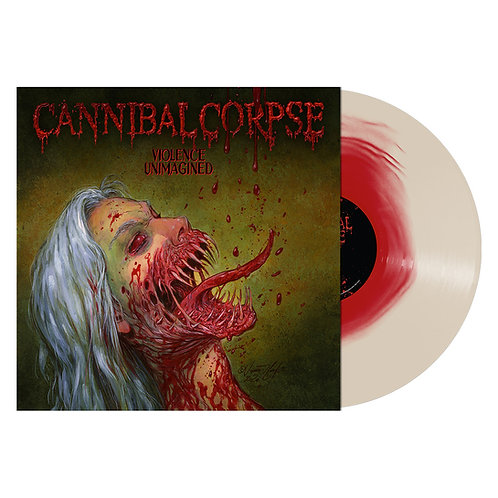 PRE-ORDEN CANNIBAL CORPSE - Violence Unimagined (RED WHITE+BOOK)(LP)