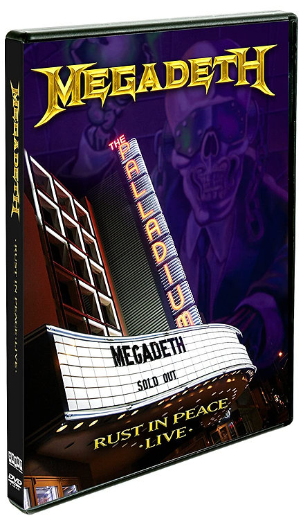 MEGADETH - Rust In Peace Live (DVD)