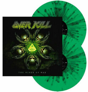 OVERKILL - THE WINGS OF WAR - 2LP GREEN/BLACK (Vinyl)