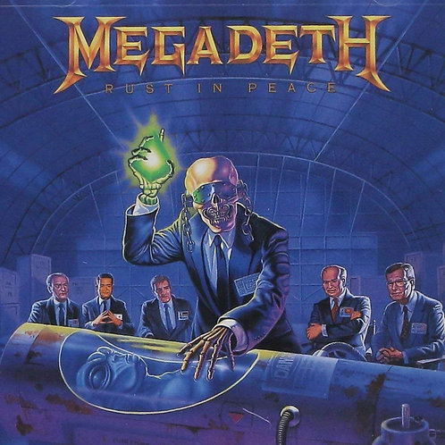 MEGADETH - Rust in Peace (CD)