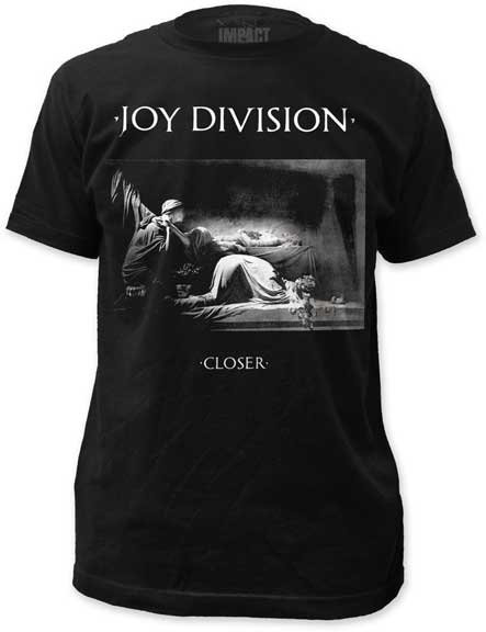 JOY DIVISION CLOSER - Mens Fitted Jersey t-shirt (Camiseta)