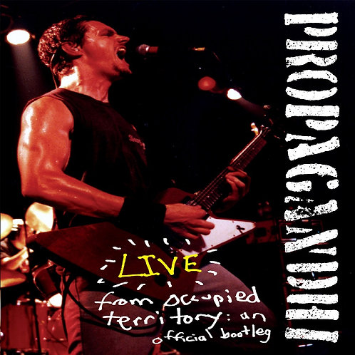 PROPAGANDHI - LIVE FROM OCCUPIED TERRITORY (DVD)