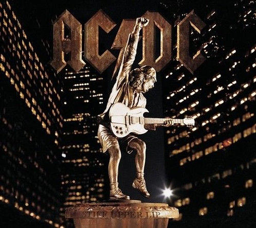 AC/DC - Stiff Upper Lip (CD)