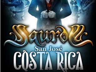 Saurom se presentará en Costa Rica en diciembre