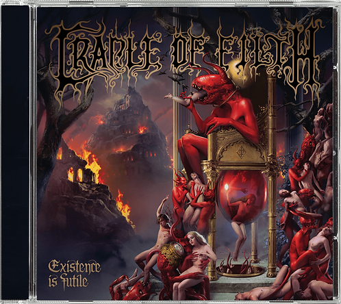 PRE ORDEN: CRADLE OF FILTH - Existence Is Futile (CD)