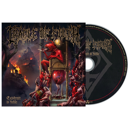 PRE ORDEN: CRADLE OF FILTH - Existence Is Futile (CD DIGIPACK)