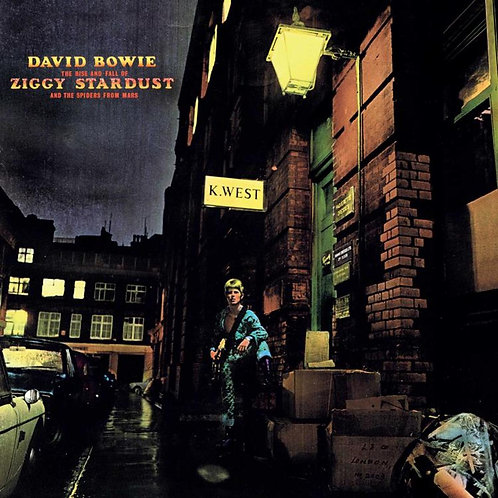 DAVID BOWIE - ZIGGY STARDUST & THE SPIDER FROM MARS (CD)