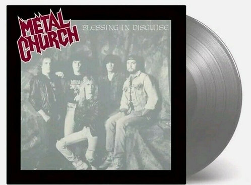 METAL CHURCH - BLESSING IN DISGUISE (LP)