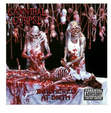 CANNIBAL CORPSE - BUTCHERED AT BIRTH (CD)