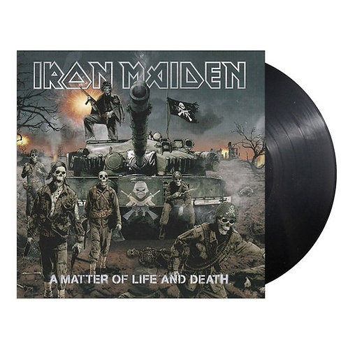 IRON MAIDEN - A MATTER OF LIFE AND DEATH (Vinyl)