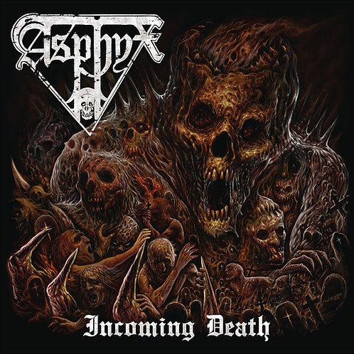ASPHYX -Incoming Death - (CD)