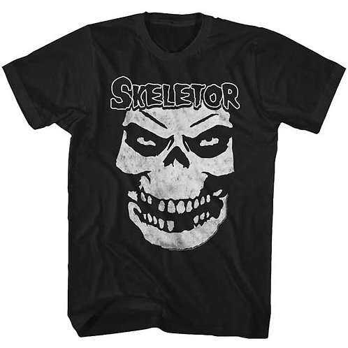 MASTERS OF THE UNIVERSE - SKELETOR FACE MENS (Camiseta)