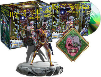 IRON MAIDEN - Somewhere In Time - (Box: CD + Figura)