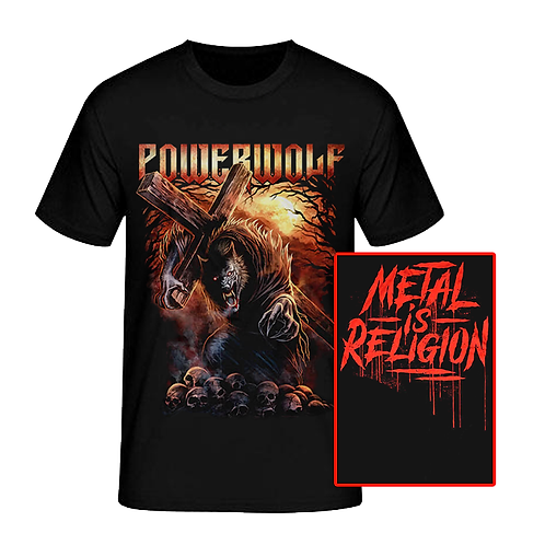 POWERWOLF - METAL IS RELIGION (CAMISETA)