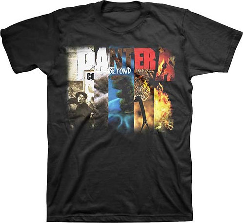 PANTERA - COLLAGE MENS T-SHIRT (Camiseta)