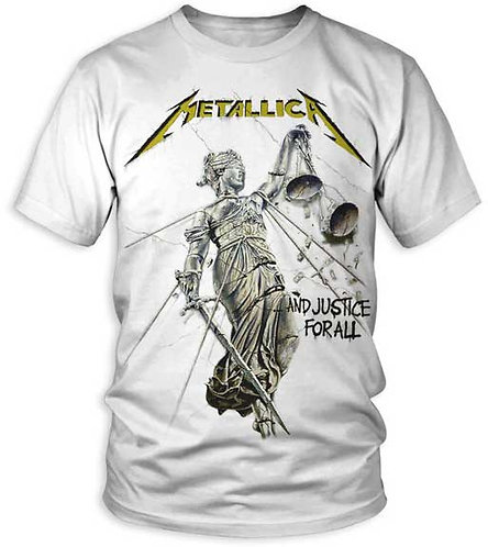 METALLICA - AND JUSTICE FOR ALL MENS T-SHIRT (Camiseta)