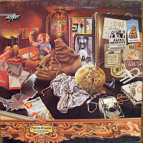 FRANK ZAPPA - Over-Nite Sensation - (CD)