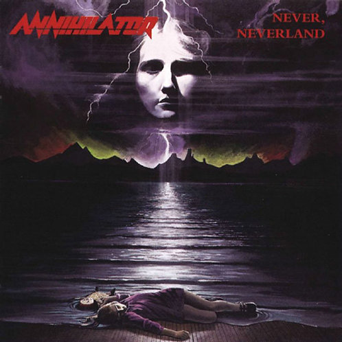 CD ANNIHILATOR - Never Neverland - (CD)