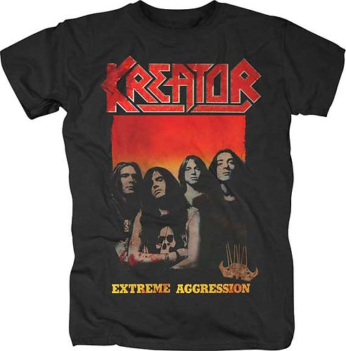 KREATOR - EXTREME AGGRESSION T-SHIRT (Camiseta)