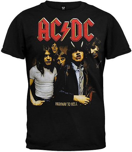 AC/DC - HIGHWAY TO HELL MENS (Camiseta)