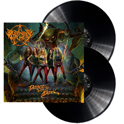 BURNING WITCHES - Dance With The (BLACK LP, versión europea)