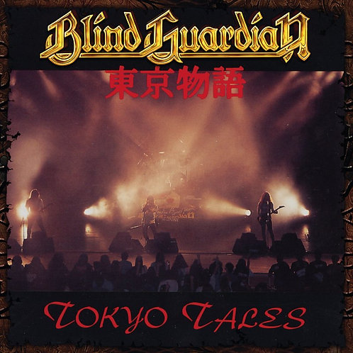 BLIND GUARDIAN - TOKYO TALES - CLEAR (LP