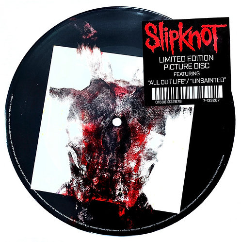 SLIPKNOT - ALL OUT LIFE - UNSAINTED - SINGLE (Vinyl)