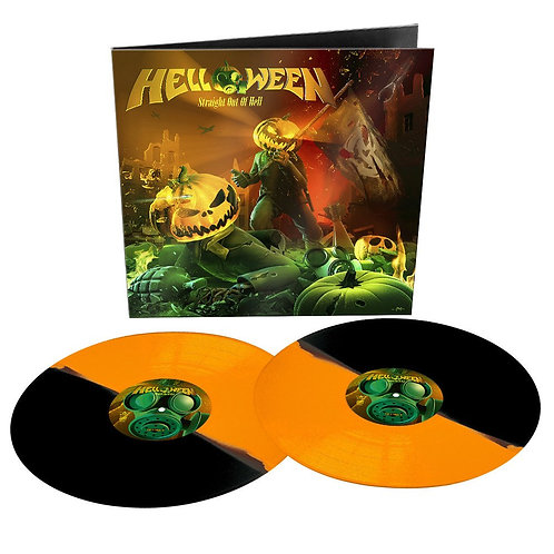 HELLOWEEN - Straight Out of hell - (Remaster 2020 Bi-Color Vinyl)