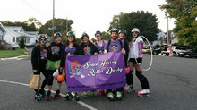 South Jersey Roller Derby - Woodbury Fall Parade Winner