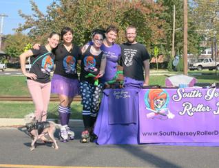South Jersey Roller Derby - Laurel Springs Fall Festival