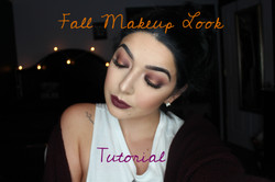 Fall makeup look tutorial