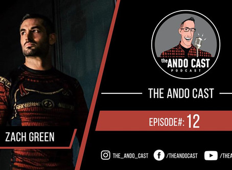 The Ando Cast #12 - With Zach Green