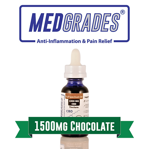 MEDGRADES: Tincture - 1500mg CBD (Chocolate)