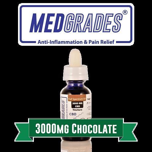 MEDGRADES: Tincture - 3000mg CBD (Chocolate)