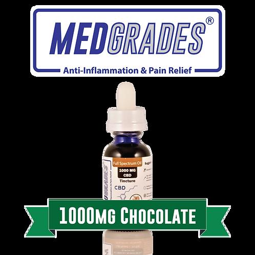 MEDGRADES: Tincture - 1000mg CBD (Chocolate)