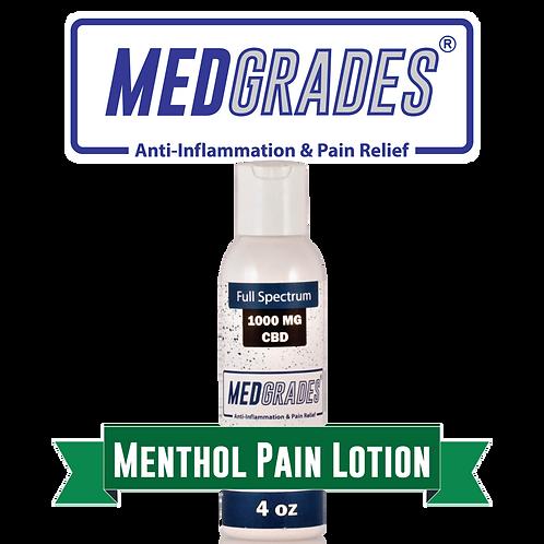 MEDGRADES: 1000mg Menthol Pain Lotion