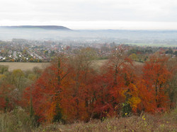 Autumn view from Whiteleaf Hill