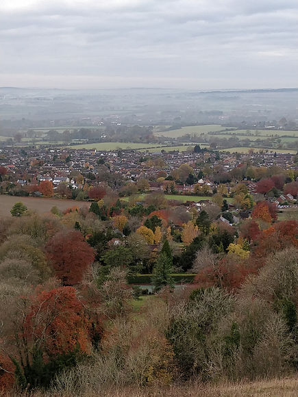 Whiteleaf Hill autumn