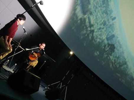 満員御礼「信夫山から見る星空スペシャルライブ」