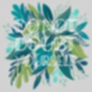 Hand lettering, floral art