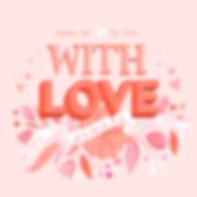 Hand letterin, floral art, valentine
