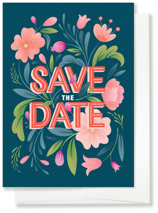 Bloom Save The Date
